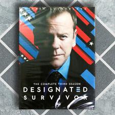 Designated Survivor season Three3 (DVD, 3-Disc Set) US Seller Fast Shipping
