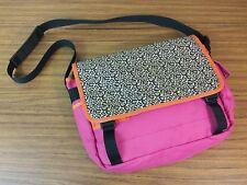 Hanna Andersson Messenger Book Bag Cheetah Pink