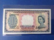 XT $ 1 QE 2 1953 MALAYA & BRITISH BORNEO