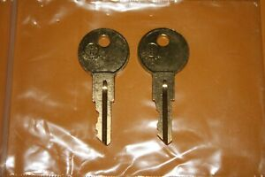 001 - 200 2-New Keys For CRAFTSMAN tool boxes cut to your code. replacement key
