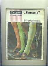 70er VINTAGE finemente COLLANT ERGEE-fantasia * Tg. 36-38 * Collant * Tights * PANTY (170