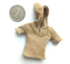 "1:12th Yellow Hoodie Model for 6"" TBLeagure DAM Body Doll"