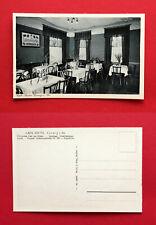 AK COSWIG um 1930 Café Saupe Innenansicht  ( 58429