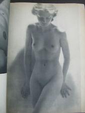 NUS (NAKED) , EROTIC ART PHOTOS MAGAZINE PAPERBACK, 40pp, PARIS, 40's, CAFEB 821