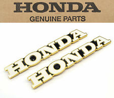 OEM Honda Gas Fuel Tank Emblems 71-75 CB500 K CB550, 69-71 CB750 K Badges #A16
