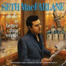 Music Is Better Than Words by Seth MacFarlane (CD, Sep-2011, Universal Republic)