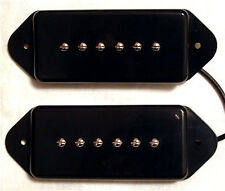 Guitar Parts GUITARHEADS PICKUPS - P90 DOG EAR - Set of 2 - BLACK