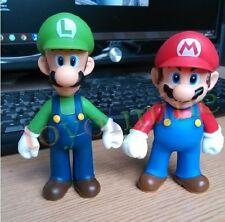 2 Pieces Nintendo Super Mario Brother Mario & Luigi Action Figure Toy Set