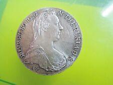SILVER COIN - 1780 Austria Maria Teresa Thaler Large rare must see
