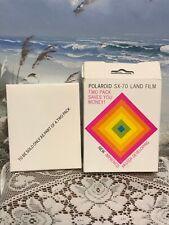 Polaroid SX-70 Land Film 10-Pictures Expired - Nov 1979 Factory Sealed