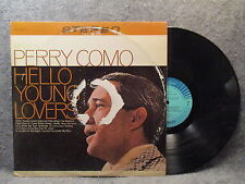 33 RPM LP Record Perry Como Hello Young Lovers RCA Camden Records CAS-2122