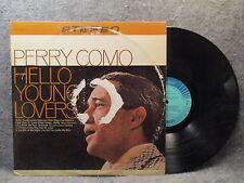 33 RPM LP Record Perry Como Hello Young Lovers RCA Camden Records CAS-2122