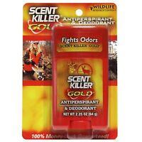 Wildlife Research Body Anti-Perspirant Deodorant 2.25oz Scent Killer Gold #01247