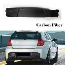 Fit For BMW E87 120i 130i M-Sport  07-10 Rear Bumper Diffuser Lip Carbon Fiber