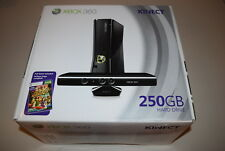 Xbox 360 S Kinect 250GB + Adventures Console Video Game System Bundle New Sealed