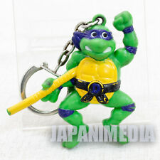 Retro RARE TMNT Teenage Mutant Ninja Turtles Donatello Figure Key Chain 1995