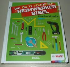 Die Do it yourself Heimwerker Bibel Heel Buch Know How + Projekte Neu!