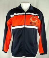 Chicago Bears NFL Apparel Men's Full-Zip Track Jacket
