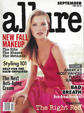 Allure Sep 1995 Kate Moss Models Kirsty Hume Niki Taylor Michelle Hicks Magazine