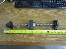"""NSK:  W1502FA-4-C5T Linear Ball Screw.  Approx.  13½"""" Travel, 14½""""  Overall <"""