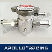 Aluminium Filler Neck&Cap Radiator Charge Cooler Header Overflow Water Tank New