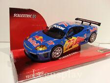 Slot SCX Scalextric 6294 Ferrari 360 GTC Red Bull Nº73