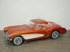 Chevrolet Corvette 1956 - Dinky DY Matchbox 1:43 *33193