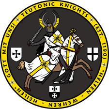 Teutonic Knight Charging on Horseback Seal Shirt