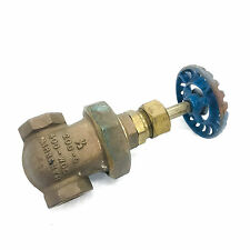 Fairbanks 0230B, 1/2'' FNPT Bronze Gate Valve 200-S, 400 WOG