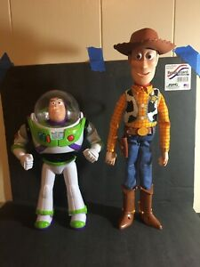 Toy Story WOODY And Buzz Talking Toy Doll Disney Pixar Thinkway Works