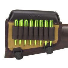 Tourbon Hunting Rifle Cheek Piece Rest Riser Bullets Buttstock Holder Ammo Carry