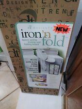 Design Trend iron ' n fold space saving ironing board