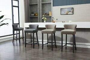 Bar Stool, Faux Leather | Breakfast | Luxury | Easy Cleaned, Kitchen, Dining