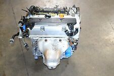 JDM 03 04 05 06 07 HONDA ACCORD ELEMENT K24A MOTOR 2.4L K24 i-VTEC DOHC ENGINE