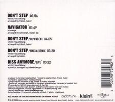 Bauchklang – Don't Step ( Leftfield, Breakbeat ) - Navigator, Diss Anymore NEU