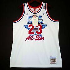 100% Authentic Michael Jordan Mitchell & Ness 91 All Star Jersey Size 48 XL Mens
