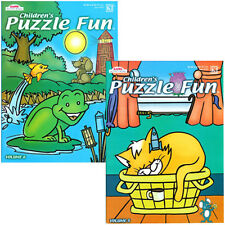 2 Kappa Children's Activity Coloring Book Puzzle Fun Party Favor New