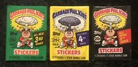 Garbage Pail Kids Wax Pack Lot 1986 Series 3 4 5 Unopened Topps Vintage Sealed