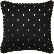 Davinci Massimo Square Cushion Black