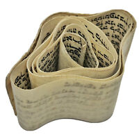 Authentic Antique Hebrew Torah Manuscript Parchment - CA 1600-1800's Tefillin C