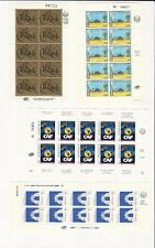 Venezuela: between 1981-1995 lot of 10 different stamps in sheet. VE1386