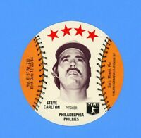 1977 SAGA DISC STEVE CARLTON   NM-MT