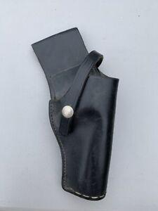 """vintage don hume maker belt holster h216 No.7 4"""" leather"""