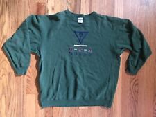 Guess USA Sweatshirt Vintage 1990s One Size Fits All Green Preowned Guess Jeans