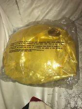 Genie Sheik Sultan Aladdin Gold Turban Hat With Jewels Halloween Costume Nip Vtg
