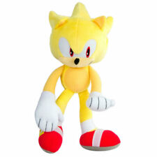 Sonic The Hedgehog Super Sonic Yellow 12-Inch Deluxe Plush Tomy