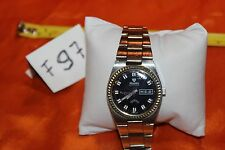 Nivada Vintage Stainless Steel Automatic RISING SUN Watch F97