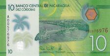 NICARAGUA.2014,10 CORDOBAS,POLYMER,P-210.UNCIRCULATED,(B)