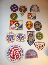 BOY SCOUT PATCHES VINTAGE LOT CONTAINING 15 (LOT 2B)