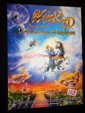 WINX  l'aventure magique    !  affiche cinema animation bd